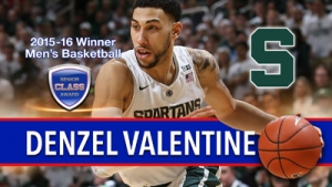 Michigan State's Denzel Valentine wins 2016 Senior CLASS Award for men's basketball